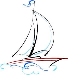 Drawn sailing Drawing Best drawing Yahoo ideas