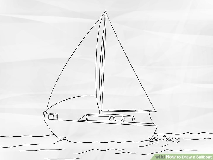 Drawn sailing Titled 6 to Draw Draw