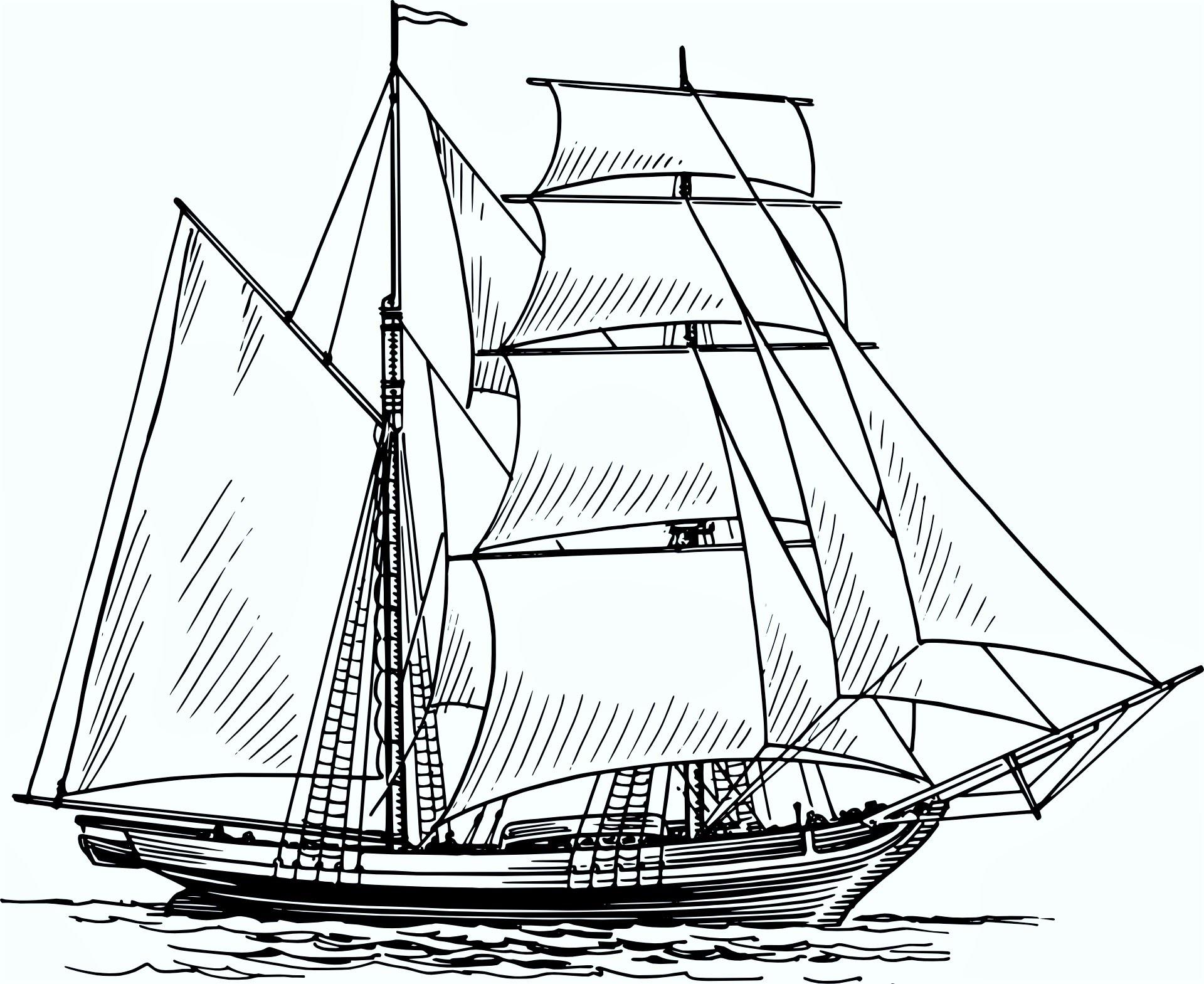 Drawn ship pencil drawing How Drawing boat: the Pencil