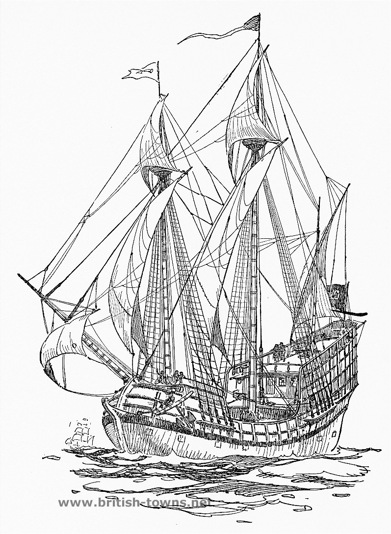 Drawn ship medieval ship  306 Pinterest images on