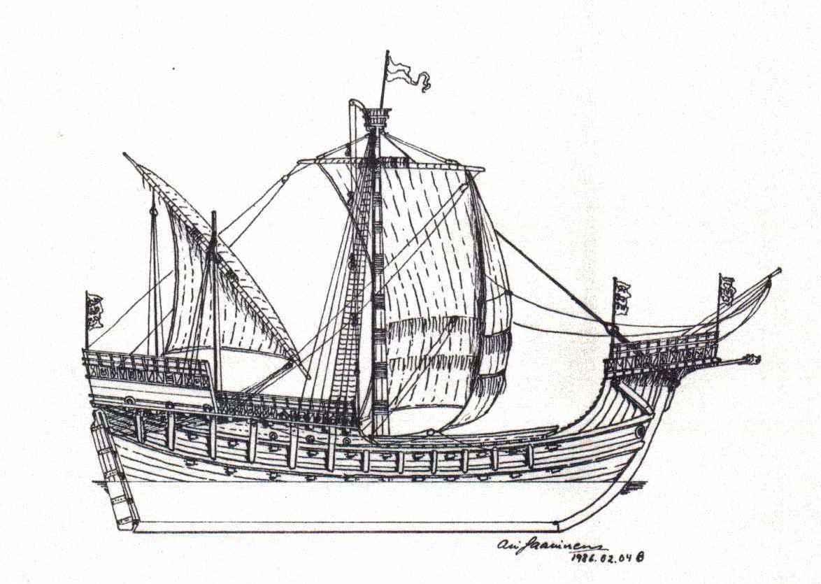 Drawn ship medieval ship Ships ship Pinterest sailing Find