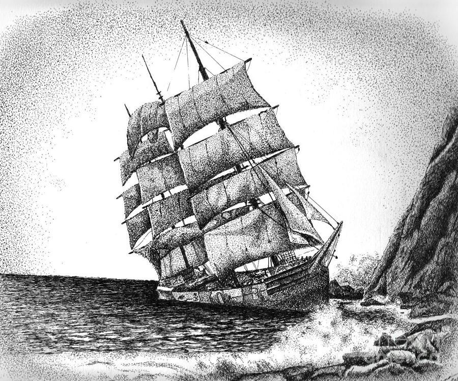 Drawn ship pirate shipwreck Shipwreck Piercings Tattoo Pinterest Ideas