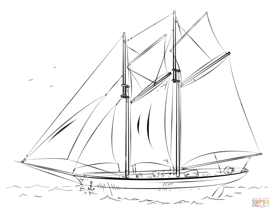 Old Sailing Ships clipart coloring page It Ship iPad Click page
