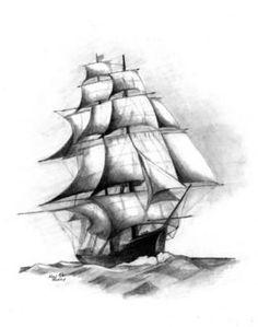 Drawn ship pencil drawing Http://2  com/_PvnAJNEr__c/TSPvavhux5I/AAAAAAAAAnY Pinterest drawing