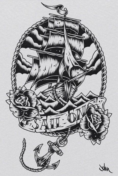 Drawn ship sailor ship Chartering your Ship charter Tugboat