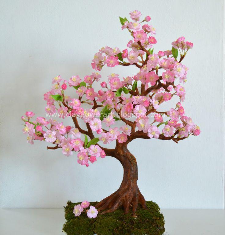 Drawn sakura blossom bonsai tree Need trunk images Many about