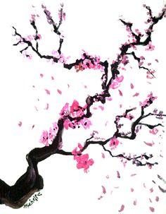 Drawn sakura blossom chibi  DeviantART by DeviantART ~