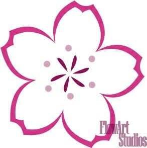 Drawn sakura blossom chibi Best images Pinterest Flowers Sakura