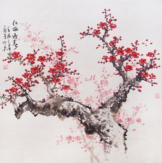 Drawn sakura blossom chinese Blossoms ideas and painting Best