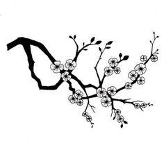 Drawn sakura blossom clip art  by karmaela on Cherry
