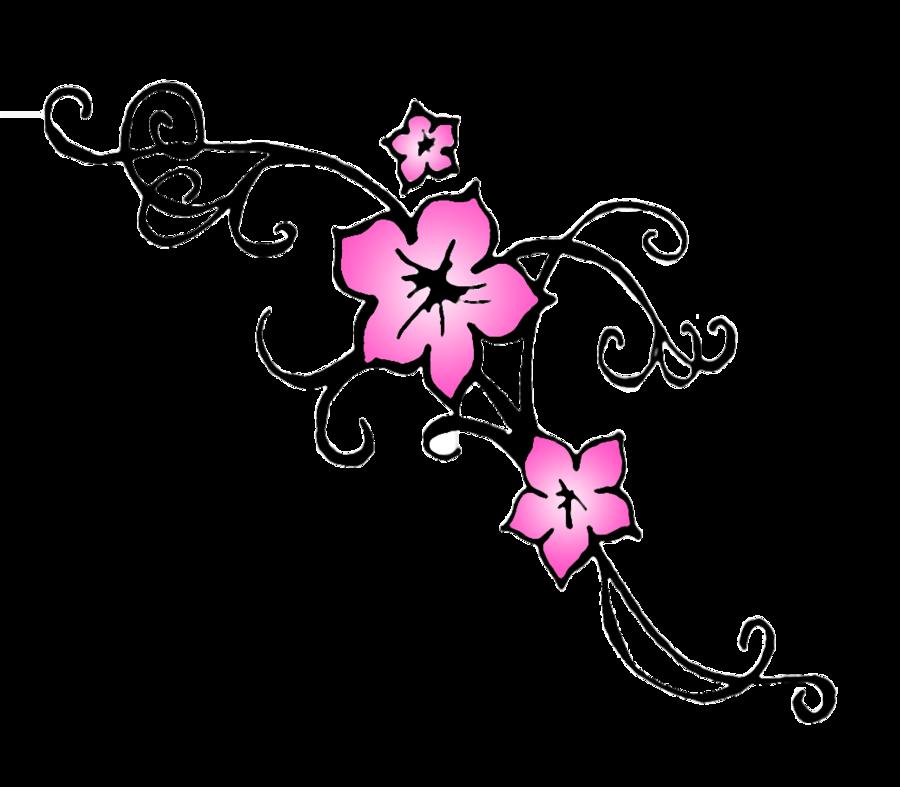 Drawn sakura blossom easy Clip Blossom Nail Cliparts Cliparts