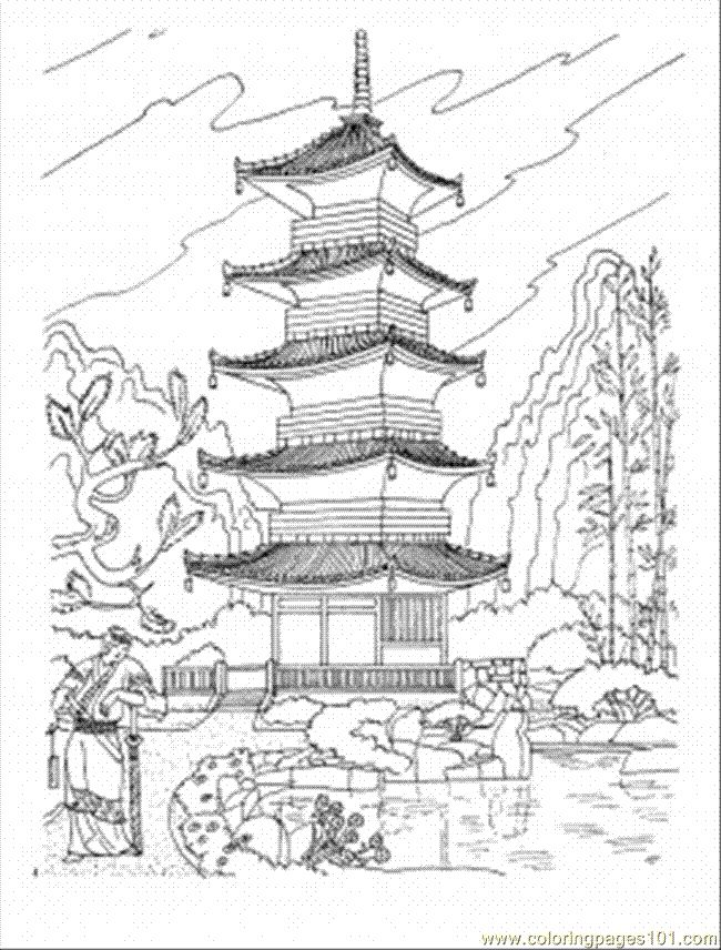 Drawn samurai temple Best Japan Japanese ideas Pagoda