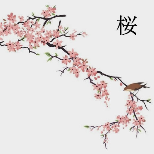 Drawn sakura blossom japanese plant @quotesgram by @quotesgram QuotesGram Blossom