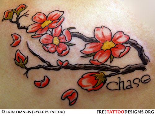 Drawn sakura blossom japanese writing Blossom Blossom Cherry Cherry Tattoo