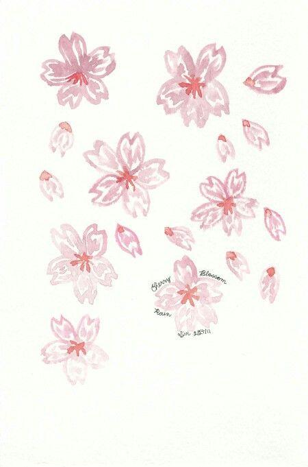 Drawn sakura blossom japenese More Flowers on on Sakura