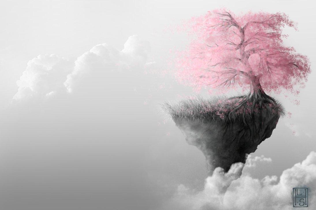 Drawn sakura blossom landscape Blossom Skies by Skies Cherry