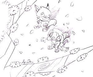 Drawn sakura blossom nice tree Cherries Cherry Blossom Cherry Drawing