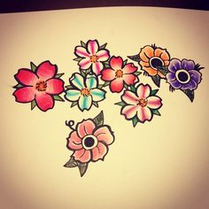 Drawn sakura blossom old school DeviantArt flowers with And by