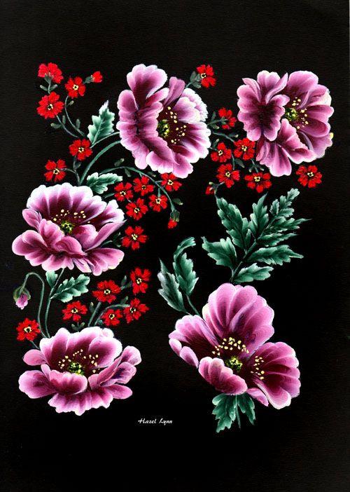 Drawn sakura blossom one stroke Best One Stroke stroke 508