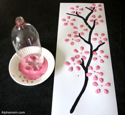 Drawn sakura blossom oriental Craft Pinterest Japanese medium on