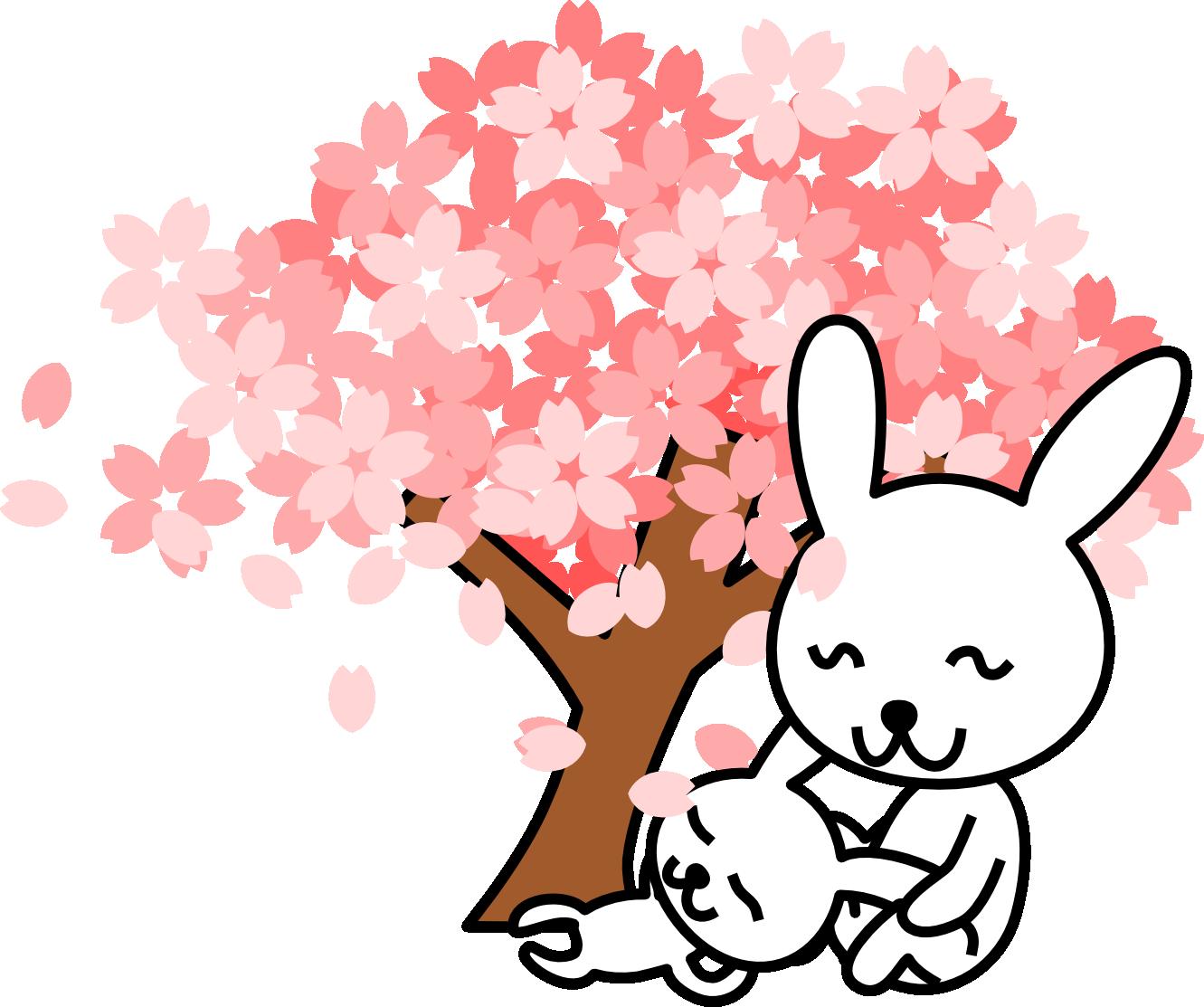 Sakura clipart japanese cherry blossom #15