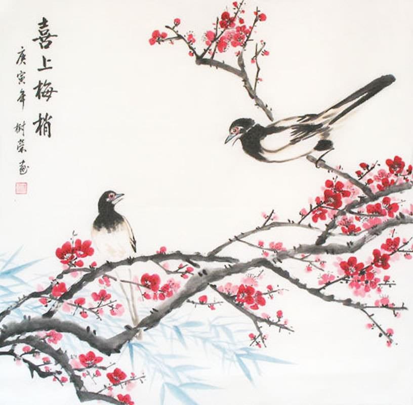 Drawn sakura blossom plum blossom Flower x Flower 2361031 69cm