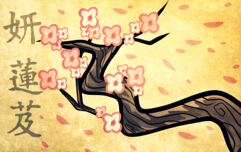 Drawn sakura blossom plum blossom How How to to Blossom