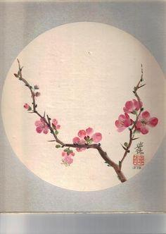 Drawn sakura blossom plum blossom More Nine Tattoo Plans of