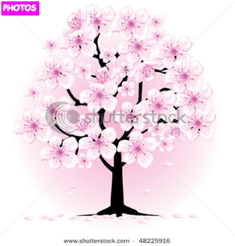 Drawn sakura blossom pretty tree @quotesgram by Japanese A Quotes
