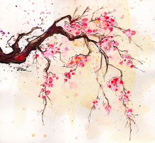Cherry Tree clipart watercolor Jpg 20 Version 5a202c3e36549f93d3607ed64d4bf0a5 Sakura