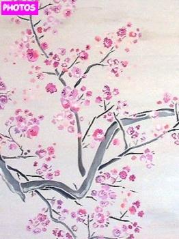 Drawn sakura blossom rose tree Blossom Tree 44 Cherry on