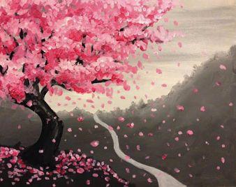 Drawn sakura blossom rose tree Blossom ideas Nite Blossom Longisland