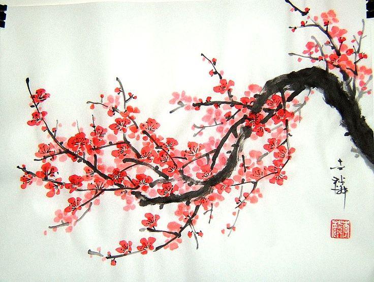 Drawn sakura blossom rose tree Best 25+ cherry  ideas