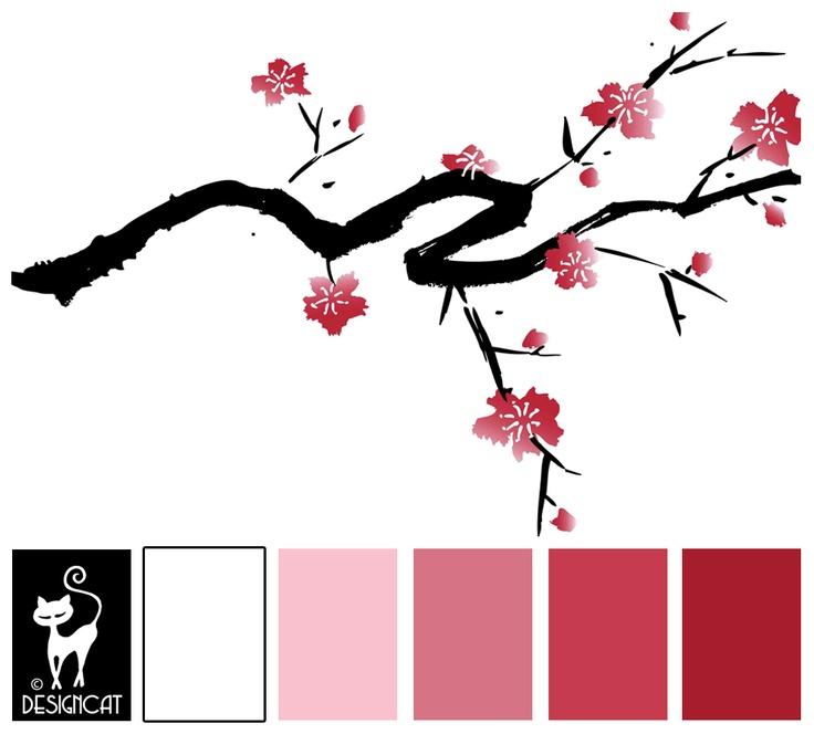 Drawn sakura blossom rose tree Blossom: images Deep Dusky Cherry