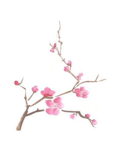 Drawn sakura blossom rose tree Blossom on tattoo more cherry
