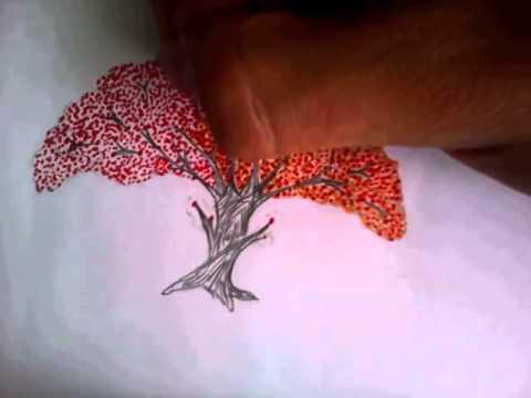 Drawn sakura blossom sakura tree How How tree BASIC BASIC