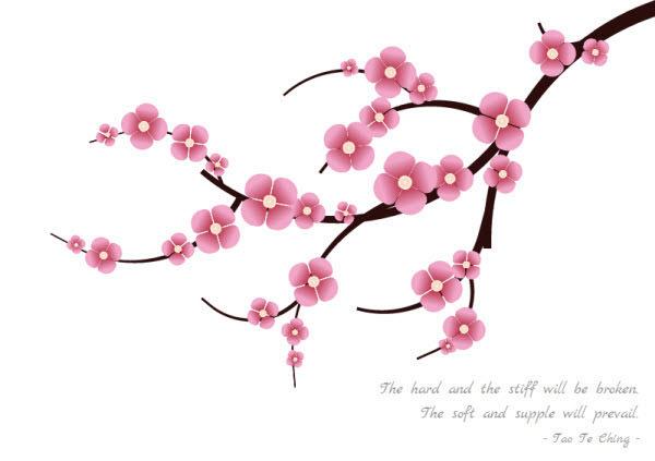 Drawn sakura blossom single Fu: blossom With Built Hongkiat
