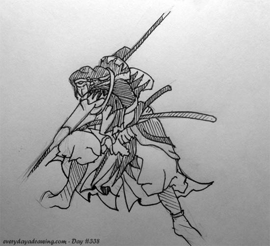 Drawn samurai Samurai a A Every Samurai