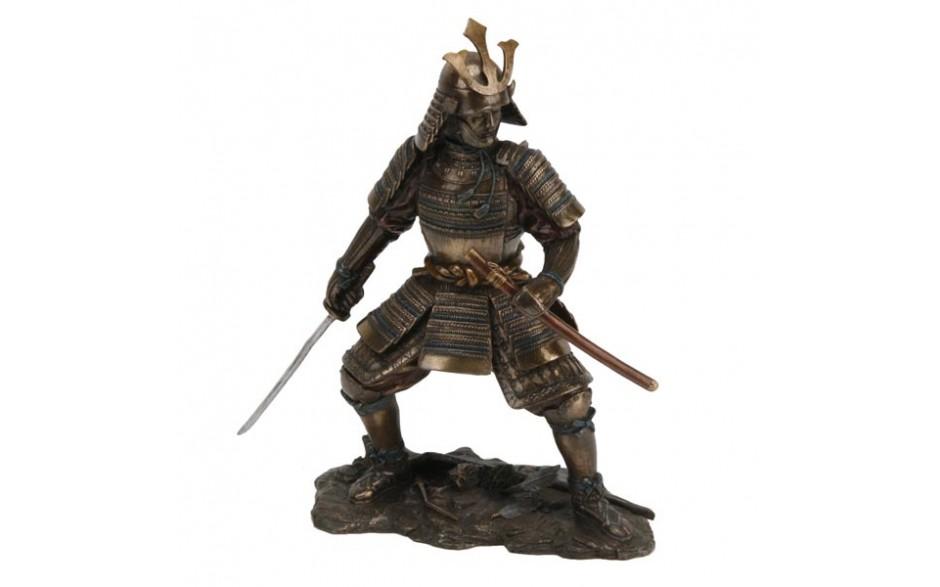 Drawn samurai Scabbard and Drawn and Sword