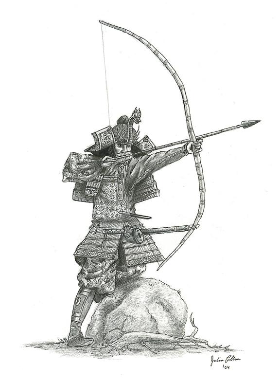 Drawn samurai OrangeJules by on Archer Aerythes