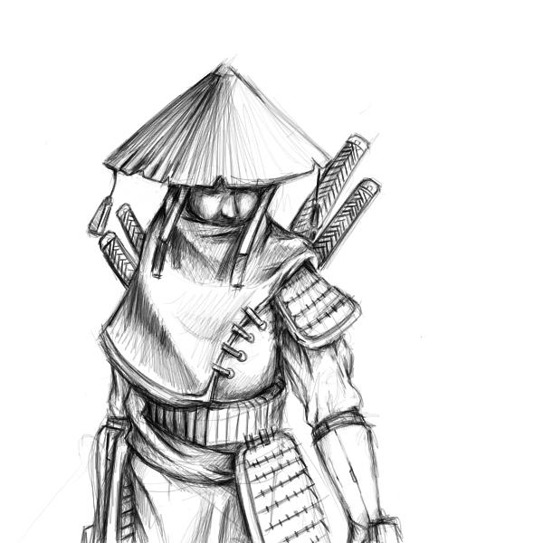 Drawn samurai By samurai DeviantArt Bomu Samurai