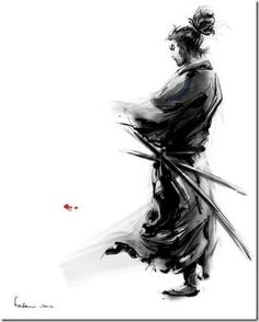 Drawn samurai abstract Inspired Warriors Samurai Awesome Of
