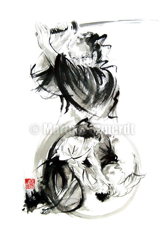 Drawn samurai abstract Https://www best 171 *** Pinterest