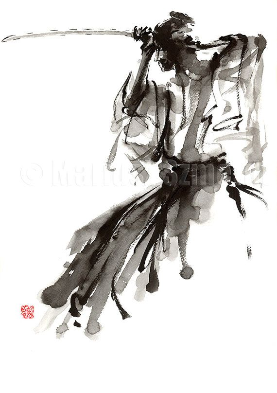 Drawn samurai abstract Astratta 25+ Best  Pinterest