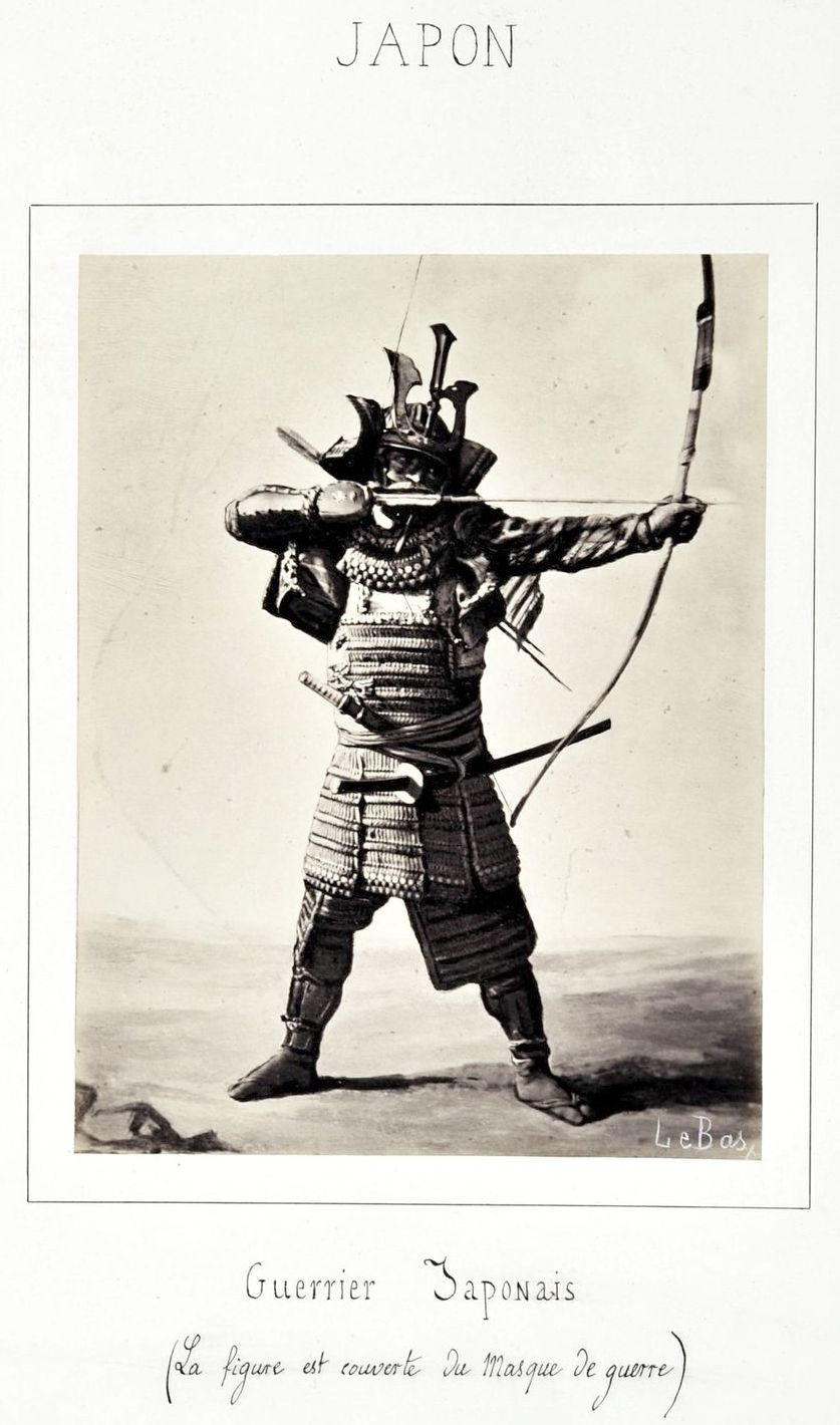 Drawn samurai archer Photographer Apollinaire Bas Samurai an