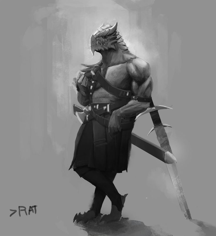 Drawn samurai barbarian Best Male on about Fantasy