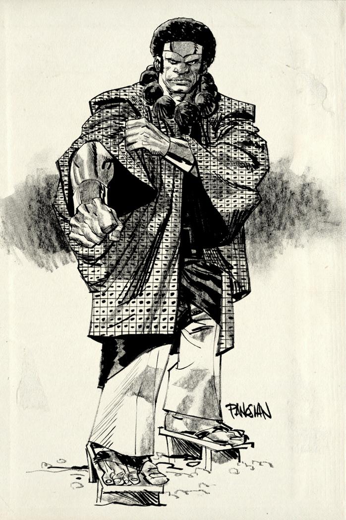 Drawn samurai barbarian Urban Samurai Samurai Luke on