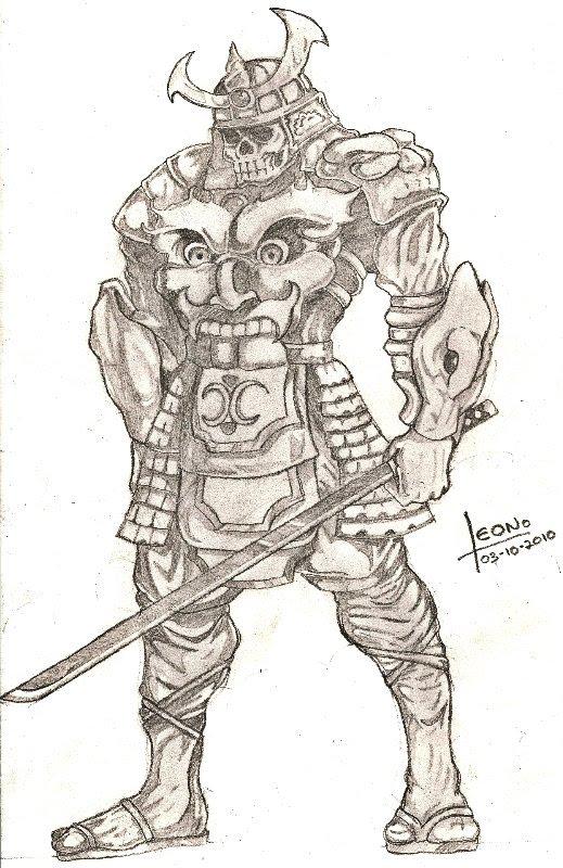 Drawn samurai bushido Spirit Spirit by on Bushido