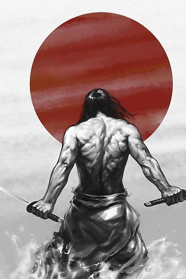 Drawn samurai bushido Inner strength  to from