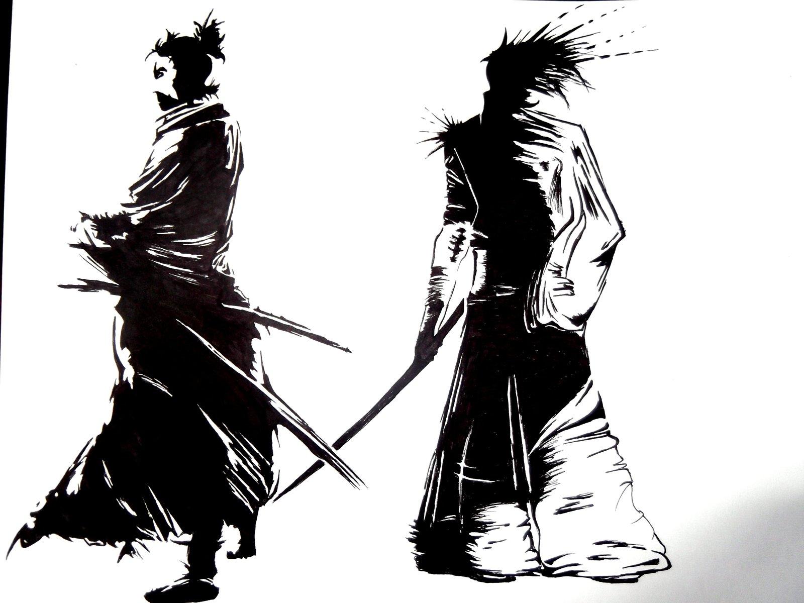 Drawn samurai bushido Colubusu colubusu by DeviantArt drawing